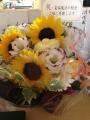 理香さんの花