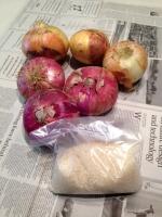 泰阜の野菜とお米