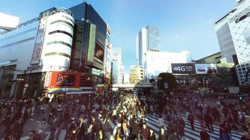 全天球カメラ「Panono」渋谷