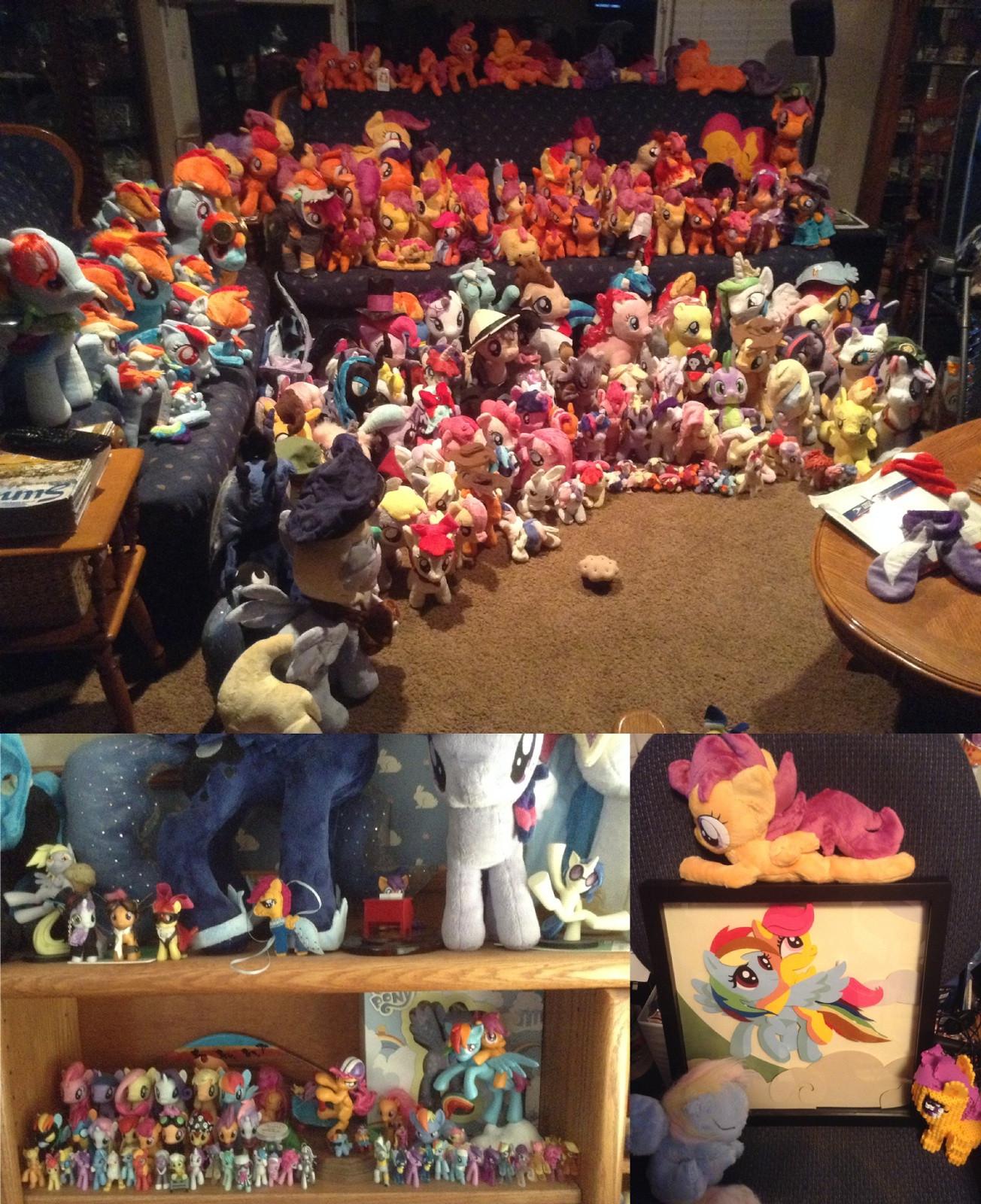 【画像】海外のマイリトルポニーオタクの部屋が凄すぎる件wwwww  [264168779]->画像>33枚