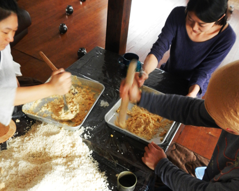 手作り味噌ワークショップ