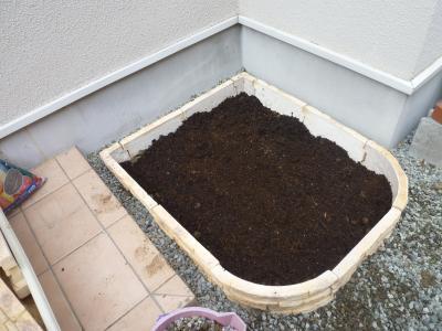 庭の花壇作り