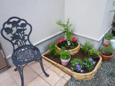 庭の花壇づくり