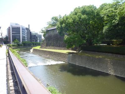 熊本城お堀