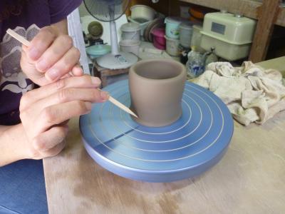 8月の陶芸教室