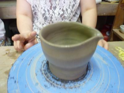 8月・陶芸教室