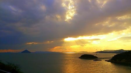 瀬戸内海直島