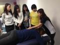 Nami Lesson 1 アロマスクール マッサージスクール オーストラリア