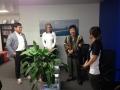 Rhona & Dr JUNG 1 アロマスクール マッサージスクール オーストラリア