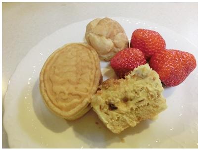 260316お菓子な朝食プレート