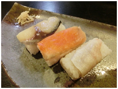 260316柿の葉寿司1