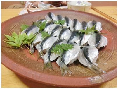 260517まつや2(ママカリ寿司)