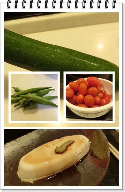 260723自家製野菜と豆腐
