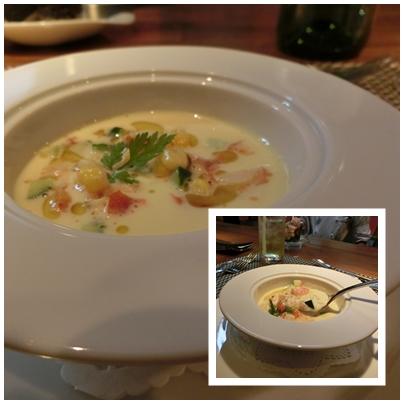 260727讃岐フレンチ ラトリエ ル マ7(冷製スープ)