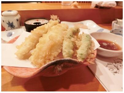 260728三四郎寿司4(キスと野菜の天ぷら)jpg
