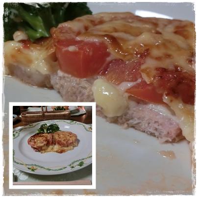 ⑤豚肉トマトチーズ