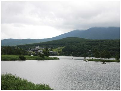白樺湖風景1