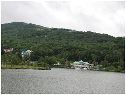 白樺湖風景2