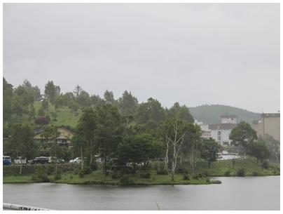 白樺湖風景3