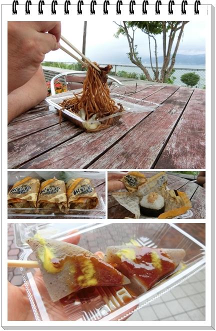 諏訪湖5(ローメン天むすこんにゃく)