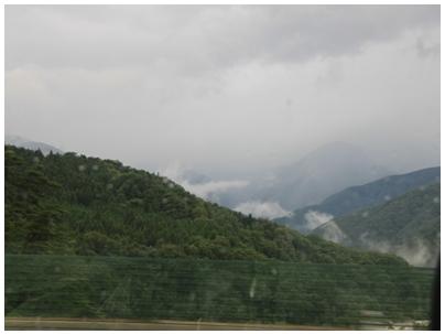 山脈の景色1