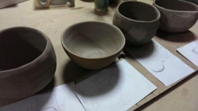 抹茶碗制作