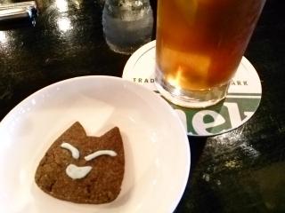 PUBカーディナル 黒烏龍茶¥750