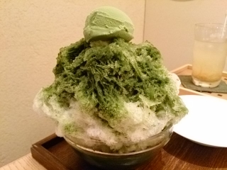 京はやしや 宇治氷あんみつ お茶セット¥1404