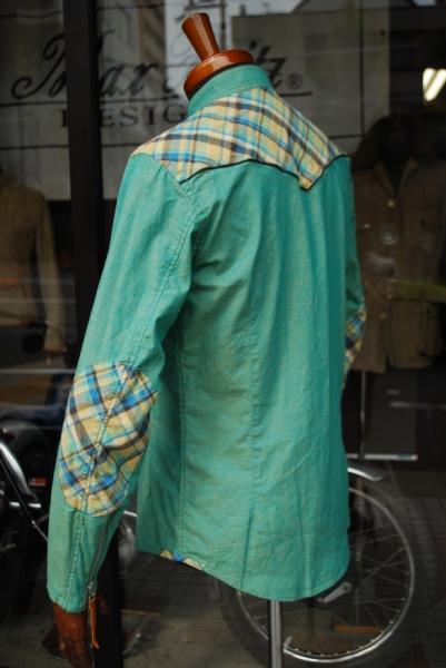 MFS-1892 ウエスタンモトシャツ