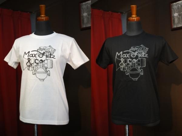 マックスフリッツファム(レディーズ)MFT-2005 CRキャブレターTシャツ