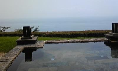 露天風呂景色