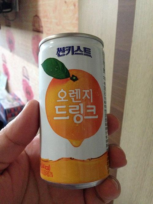 サンキストオレンジジュース