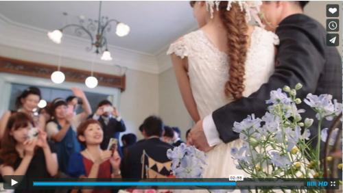 結婚式ビデオ19