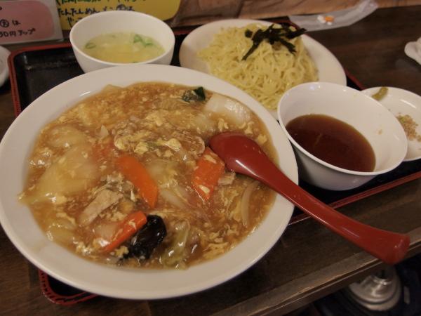 中丼&冷やしつけ麺