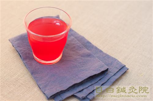 赤シソジュース赤紫蘇エキスジュース20140627