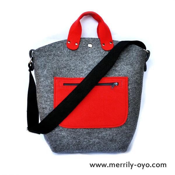 バッグ・赤ポケット