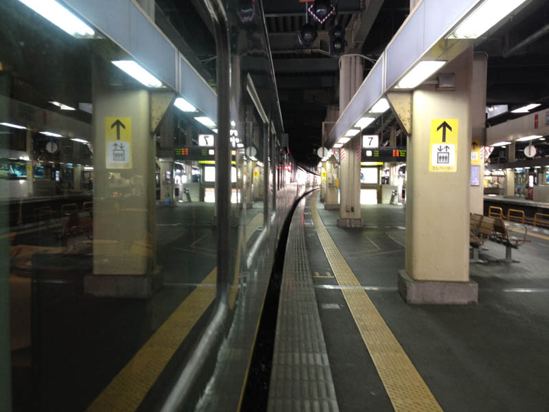 トワイライト 金沢駅