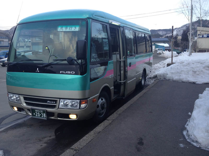 岩泉線 代行バス