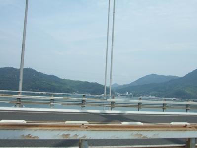 大三島橋より