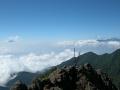 赤岳山頂から富士と南アルプス-1