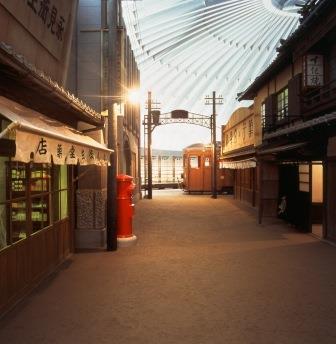えひめの近・現代-昭和初期の大街道(第4展示室)