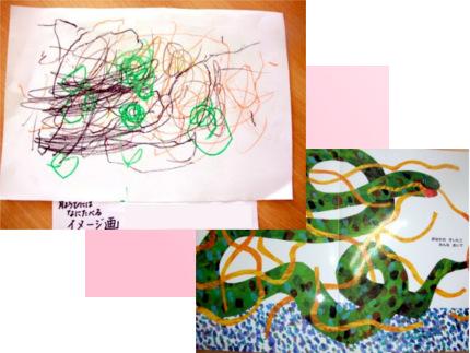 リトミック 春の絵本レッスン=絵画
