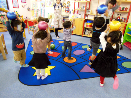 運動能力 ボール 3歳児