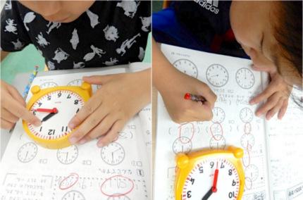 時計学習 1年生