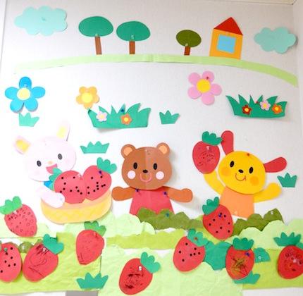 室内壁画 5月