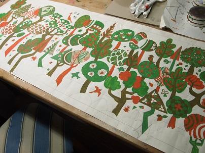 木々色②完成