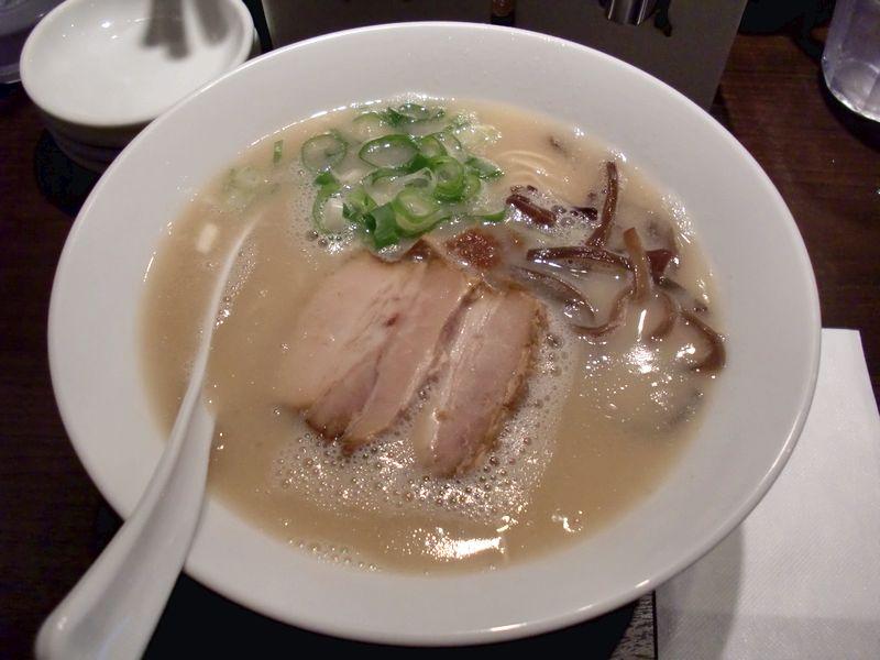 加藤商店@青山一丁目・20140727・博多豚骨