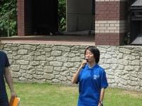 2014-06-15 新居浜東高校吹奏楽部INマイントピア (8) 部長挨拶サイズ変更