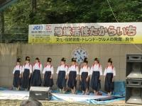 2014-06-15 新居浜東高校書道部INマイントピア1 サイズ変更