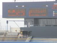 2014-07-22 スコアボードには安楽選手の名前